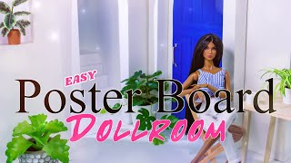 DIY - How to Make: Poster Board Doll Room   In Depth