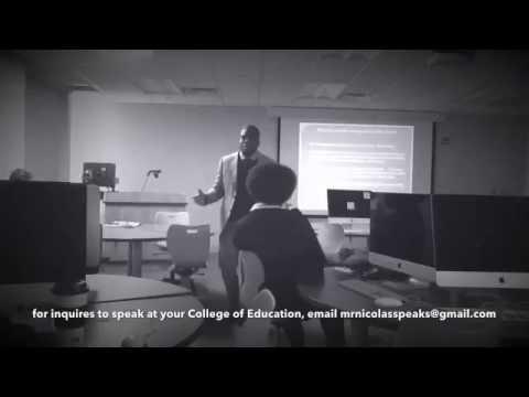 Power of a Great Teacher: Donald Nicolas @ FAMU College of Education   Motivational Video Clip