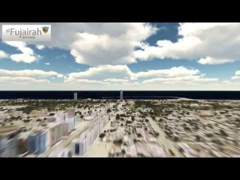 Fujairah 3D Aerial View