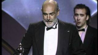 Sean Connery winning Best Supporting Actor