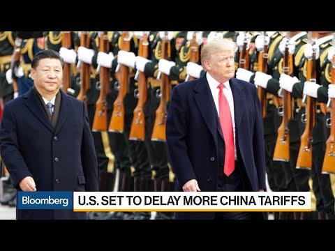 U.S. Set to Delay More China Tariffs