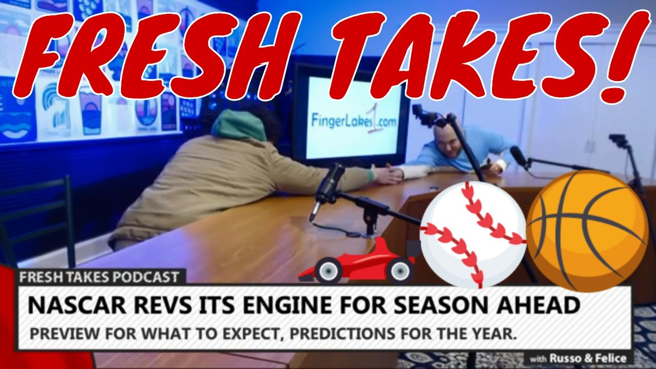 NASCAR preview, Baseball's wild play-off proposal & NBA All-Star Weekend .::. Fresh Takes w/ Russo & Felice  2/12/20