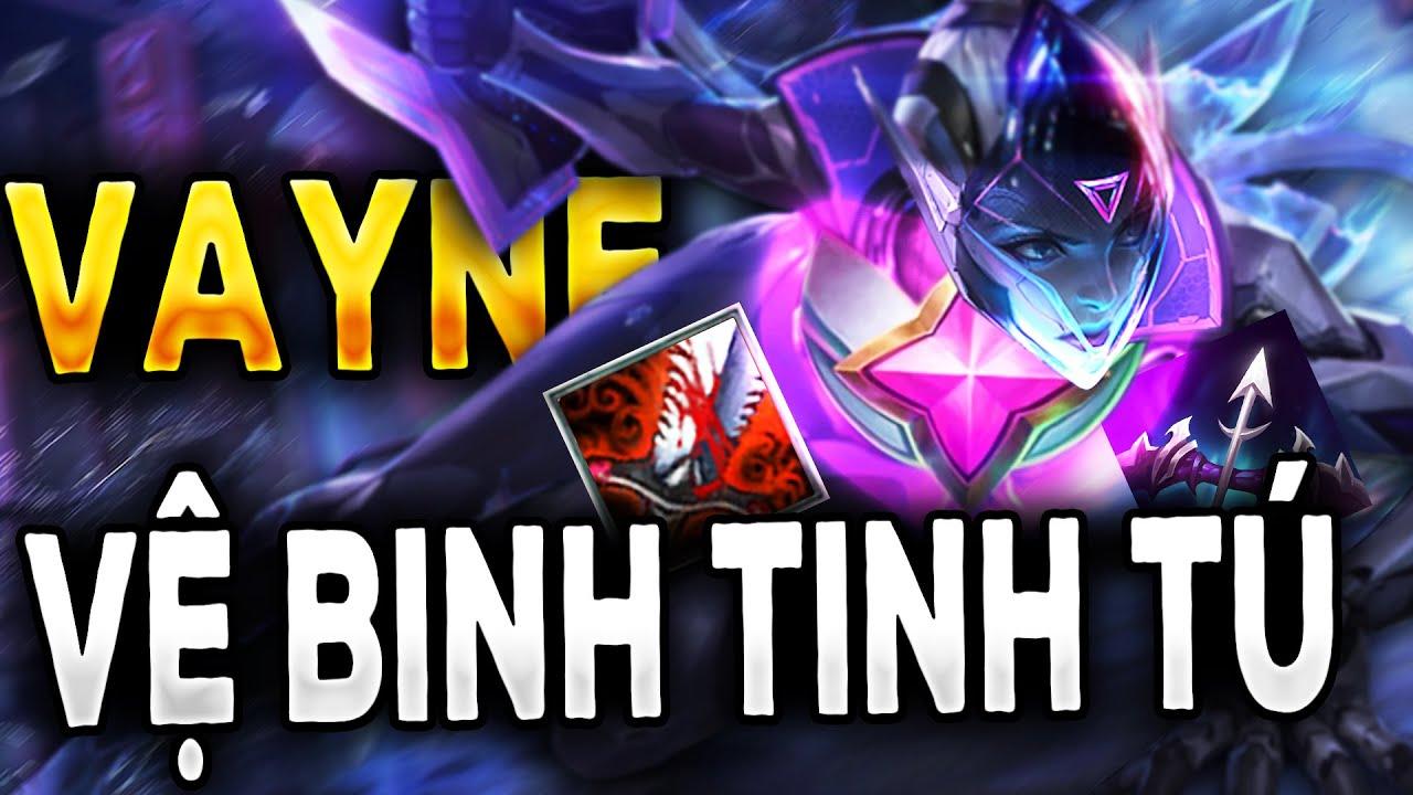 VAYNE HÍP HỐP VỆ BINH TINH TÚ l ĐTCL Mùa 3,5