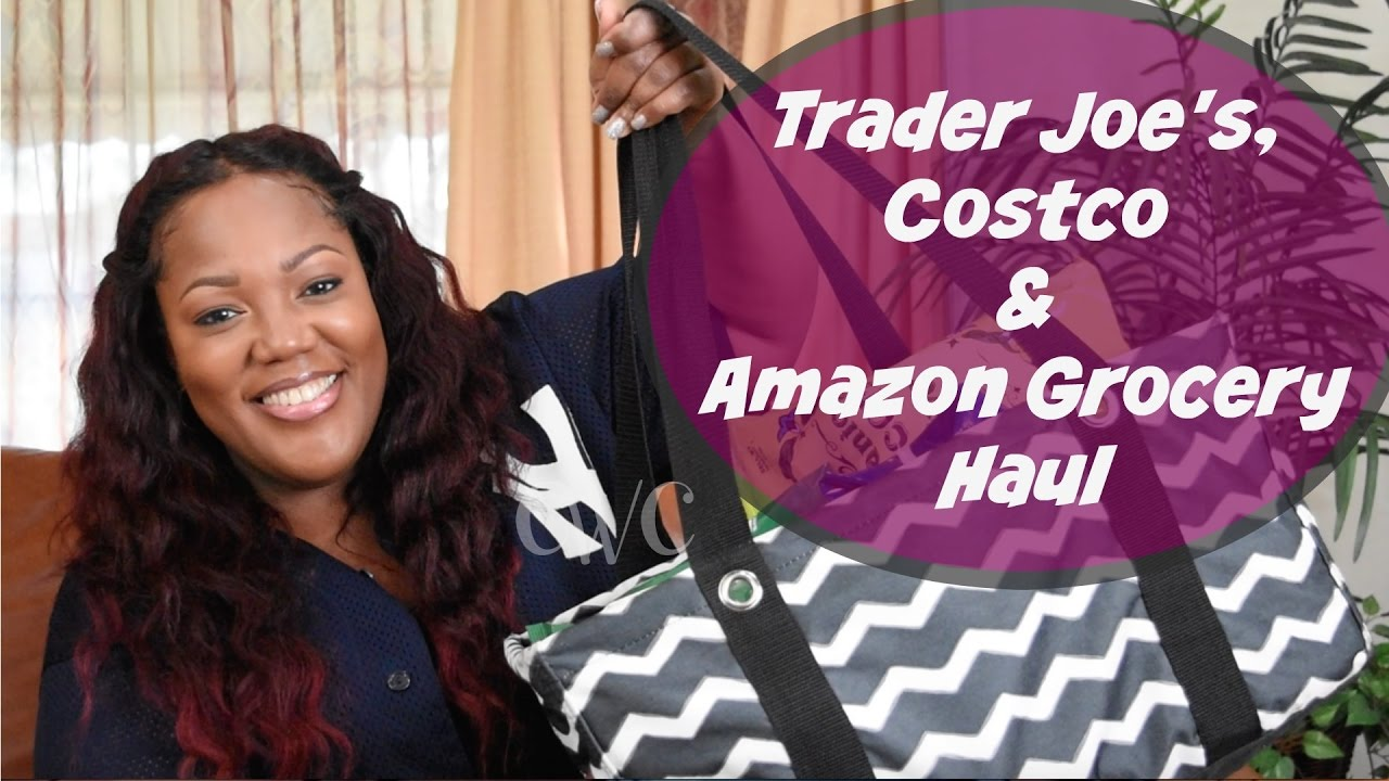 Trader Joe's, Costco and Amazon Grocery Haul & Chit Chat |Cooking With Carolyn