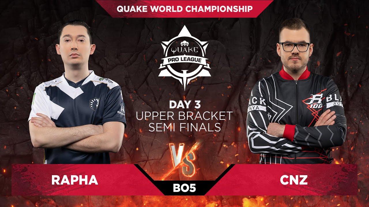 Rapha vs cnz - Quake World Championship 2020 - Day 3