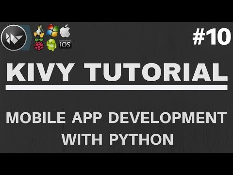 Kivy Tutorial #10 - Creating A Popup Window