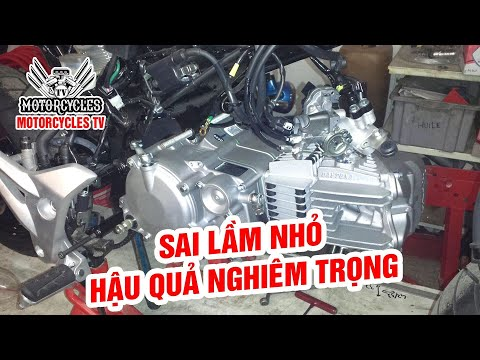 Video 213: Sai Lầm Khi Sửa Xe Nhiều Thợ Gặp Phải | Motorcycle TV