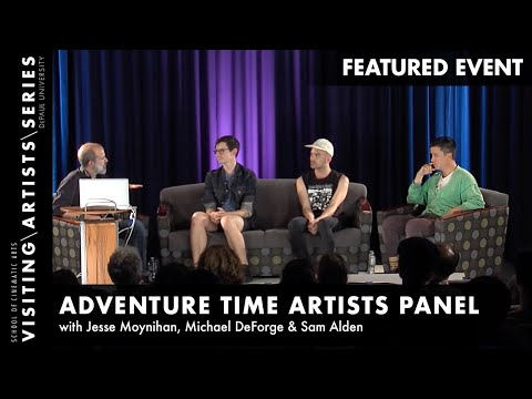 Adventure Time Artists Panel