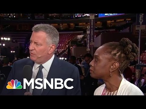 Mayor Bill De Blasio On Importance Of Neighborhood Policing | Andrea Mitchell | MSNBC