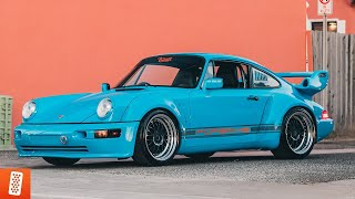Building a Turbo Porsche 964 in 14 minutes! (COMPLETE TRANSFORMATION)