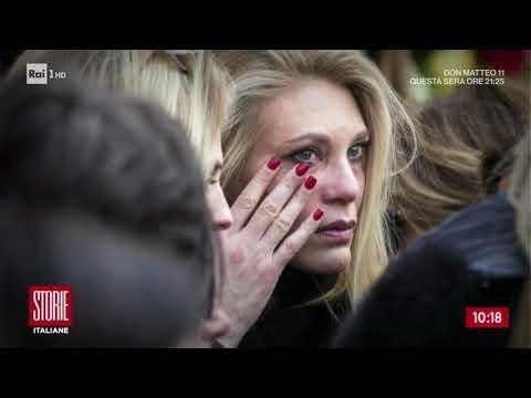 Funerali Fabrizio Frizzi tra lacrime e ricordi - Storie italiane 29/03/2018