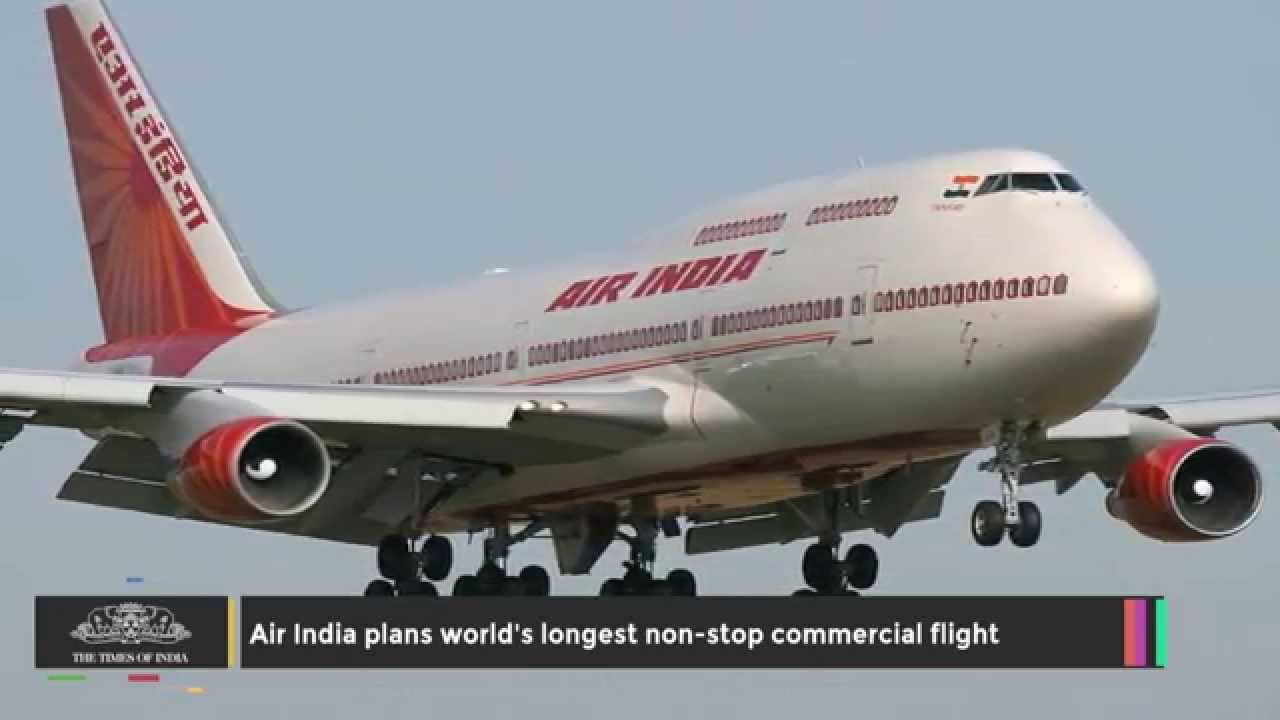 Air India Plans Worlds Longest Non Stop Commercial Flight YouTube - The 14 longest non stop flights in the world