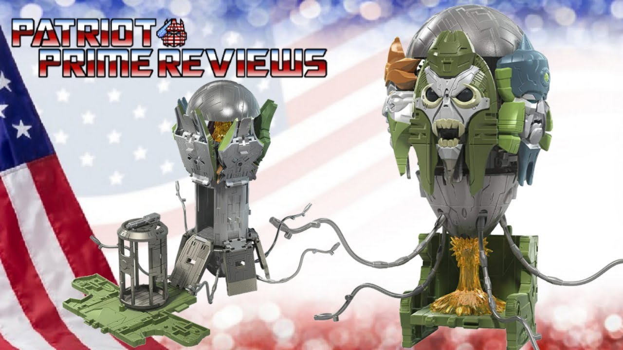 Patriot Prime Reviews the Transformers Earthrise Quintesson Judge