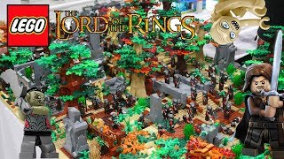 AWESOME Lego Lord Of The Rings MOCs (Gondor, Middle Earth, The Hobbit) | BrickFair 2017