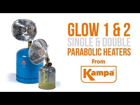 Kampa Glow 1 Parabolic Heater from
