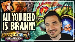 ALL I NEEDED WAS A BRANN! - Hearthstone Battlegrounds