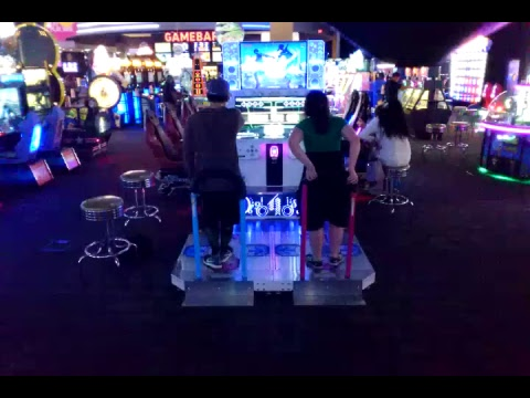 DDR A Live at Dave & Buster's in Dallas Dance Dance Revolution 1 of 3