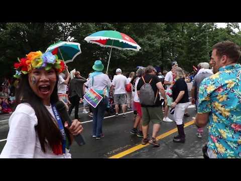 MSVU In The 2018 Halifax Pride Parade