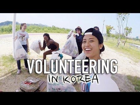 Volunteer Activities in Korea / 한국에서 자원봉사활동