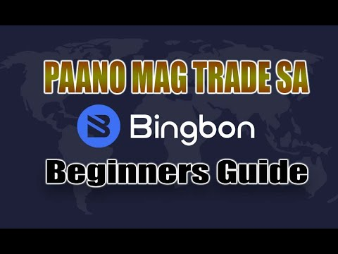 PAANO MAG TRADE SA BINGBON  - BEGINNERS GUIDE