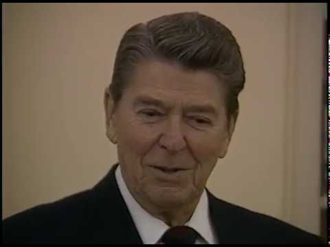 President Reagan's Photo Opportunities on December 19-20, 1985