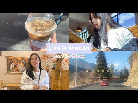 Life in Bhutan post lockdown| deserted Thimphu town, fulfilling food cravings