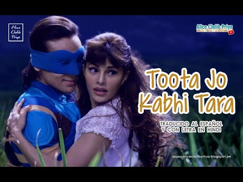 Toota Jo Kabhi Tara _ A Flying Jatt ( Sub Español +  Lyrics ) HD