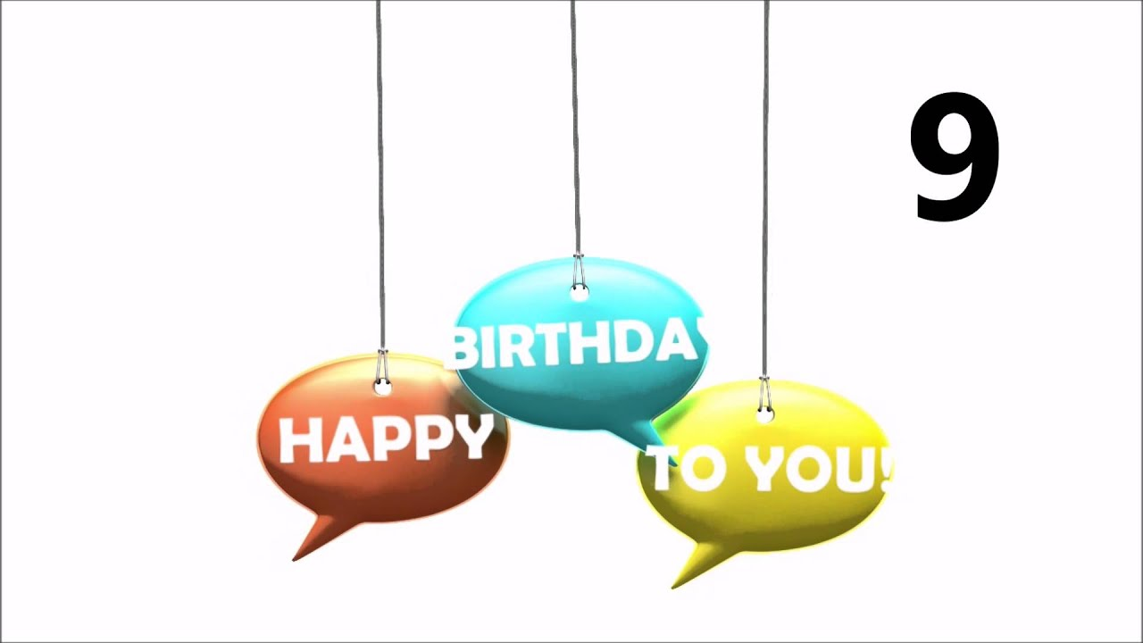 Herzlichen Gluckwunsch Zum Geburtstag 9 Youtube
