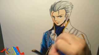 Dibujando a: Vergil (Devil May Cry)