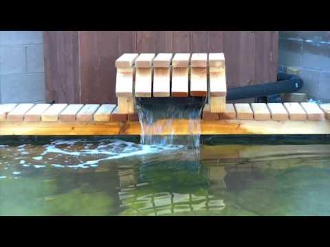 POND SIMPLE WATERFALLS
