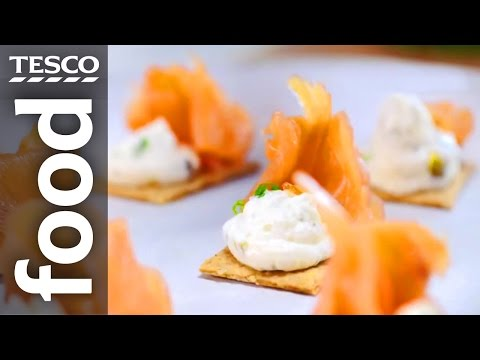 Three Easy Christmas Party Food Ideas From SORTEDfood | Tesco Food