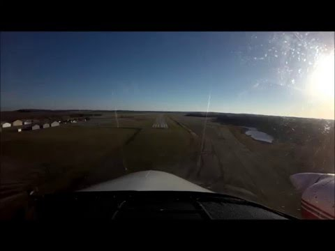 Cessna 310; Landing & Takeoff Todd Field Mn 14Y