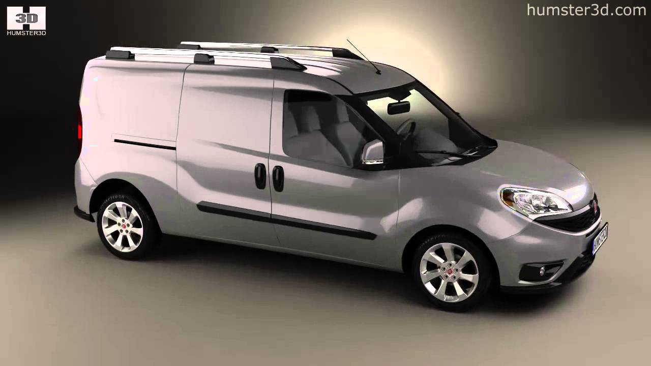 fiat doblo cargo l2h1 2015 by 3d model store youtube. Black Bedroom Furniture Sets. Home Design Ideas