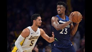 Jimmy Butler goes off as Lakers fall. Where's the defense and who's calling the rotation?