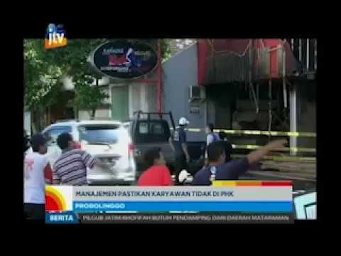 www.pojokpitu.com : Pasca Terbakar, Bee Jay Karaoke Jadi Tontonan Warga