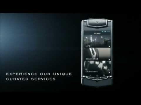 The New Vertu Ti - Luxury Android Smartphone