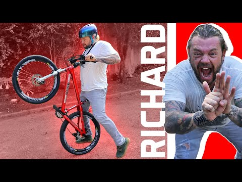 DESAFIEI O RICHARD RASMUSSEN NO GRAU DE BIKE | YOUTUBERS NO GRAU EP. 2