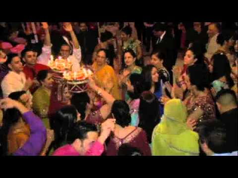 Punjabi Wedding Djs at a Reception - DJ Sunny Entertainment l Raj Minocha