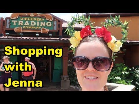 Discovery Trading Company at Disney's Animal Kingdom - Shopping with Jenna