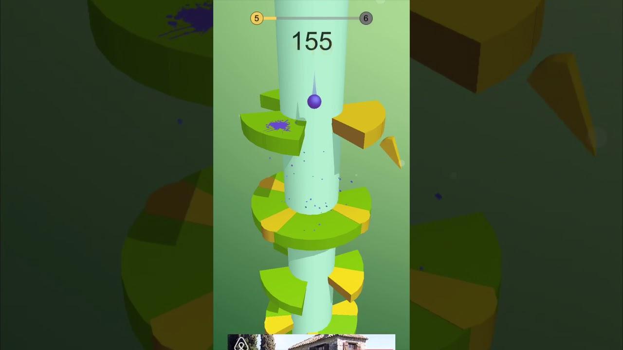 Helix Jump - levels 5-8 - YouTube