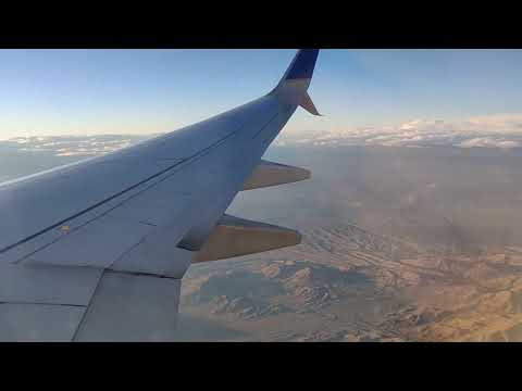 United Airlines Boeing 737-900 From ORD Chicago To LAS Vegas