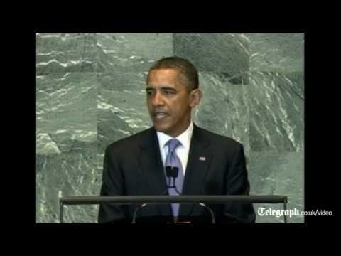 US President Barack Obama Urges Palestinians And Israelis To Resume Talks