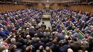 ضربة موجعة لماي بعد رفض البرلمان البريطاني بأغلبية ساحقة اتفاق الخروج من الاتحاد الأوروبي…