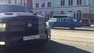 """У калининградской синагоги снимают сериал """"Преступление"""" с Мороз и Прилучным"""