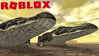 "Wild Savannah (Roblox)-new Animal, predators of the ""Crocodile"" river-(#5) (Gameplay EN-BR)"