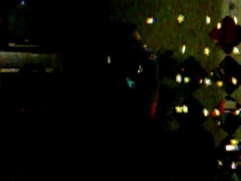Matts Scummy man xmas karaoke 09
