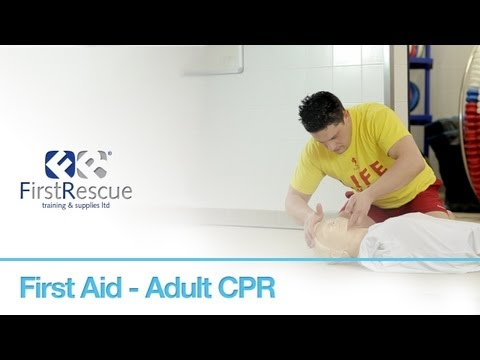 First Aid - Adult CPR