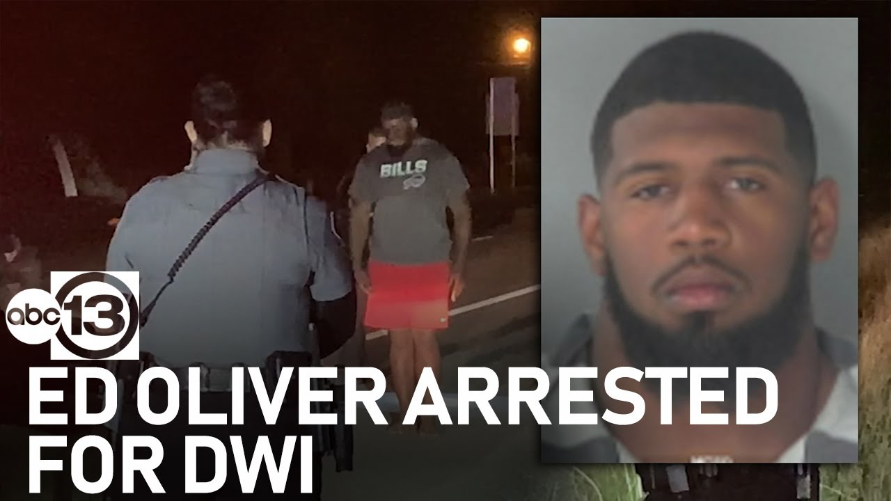 NFL star Ed Oliver arrested on DWI charge in Montgomery County