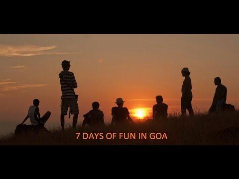 7 Days in GOA |A budget trip to GOA | December 2012 visit