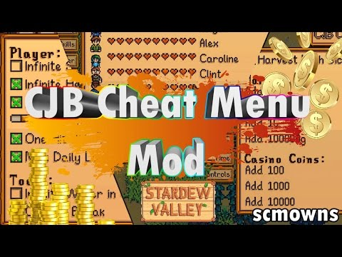 StarDew Valley - CJB Cheat Menu Mod Review & Tutorial